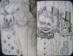 10-17 clowns