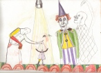 Puppetry and Perfect Teeth, Colored Pencil on Paper,