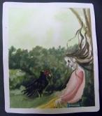 waiting to Die,Watercolor on Paper2013